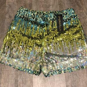 OOTO Athena Sequin Shorts